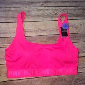 Pink Victoria Secret Ultimate Sports Bra